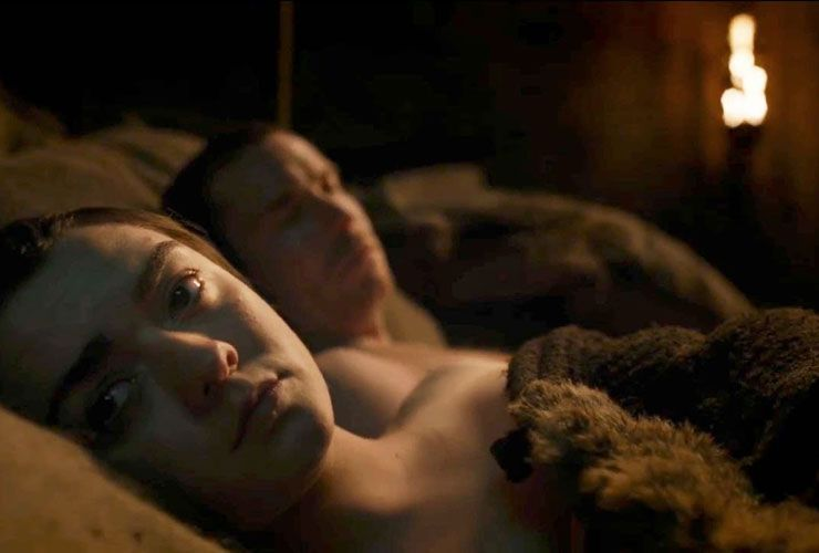 Maisie Williams Isn't Any More Comfortable with Her Game of Thrones Sex Scene Than You Are