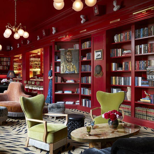 maison de la luz library veranda