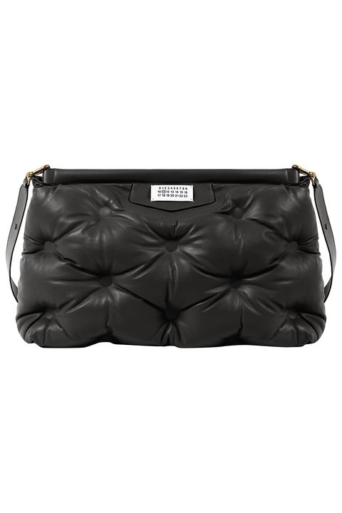 Bag, Handbag, Black, Leather, Fashion accessory, Shoulder bag, Material property, Luggage and bags,