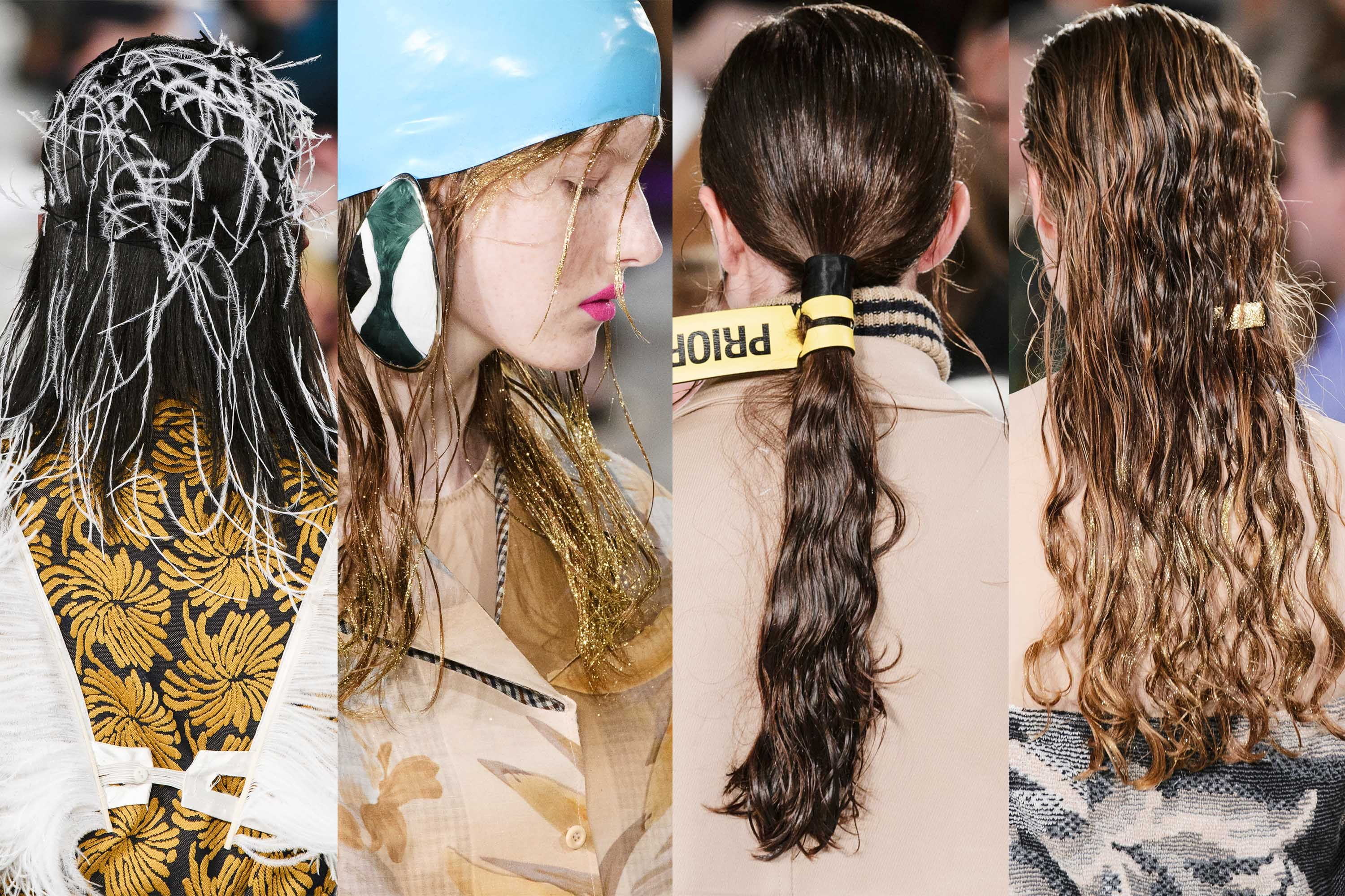 d0507e6ca78 Spring Hair Trends 2018 - Spring and Summer Hairstyles From NYFW Runway