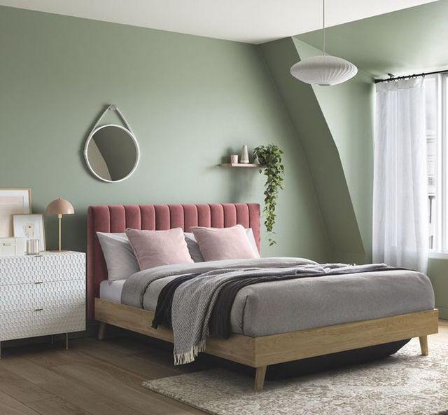 house beautiful maisy ottoman bed dreams