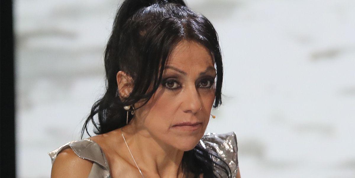 Maite Galdeano en el plató de Supervivientes 2018