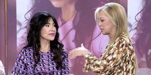 Maite Galdeano se estrena como presentadora de 'Sálvame'