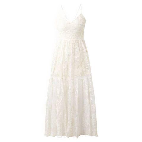 maje midi jurk