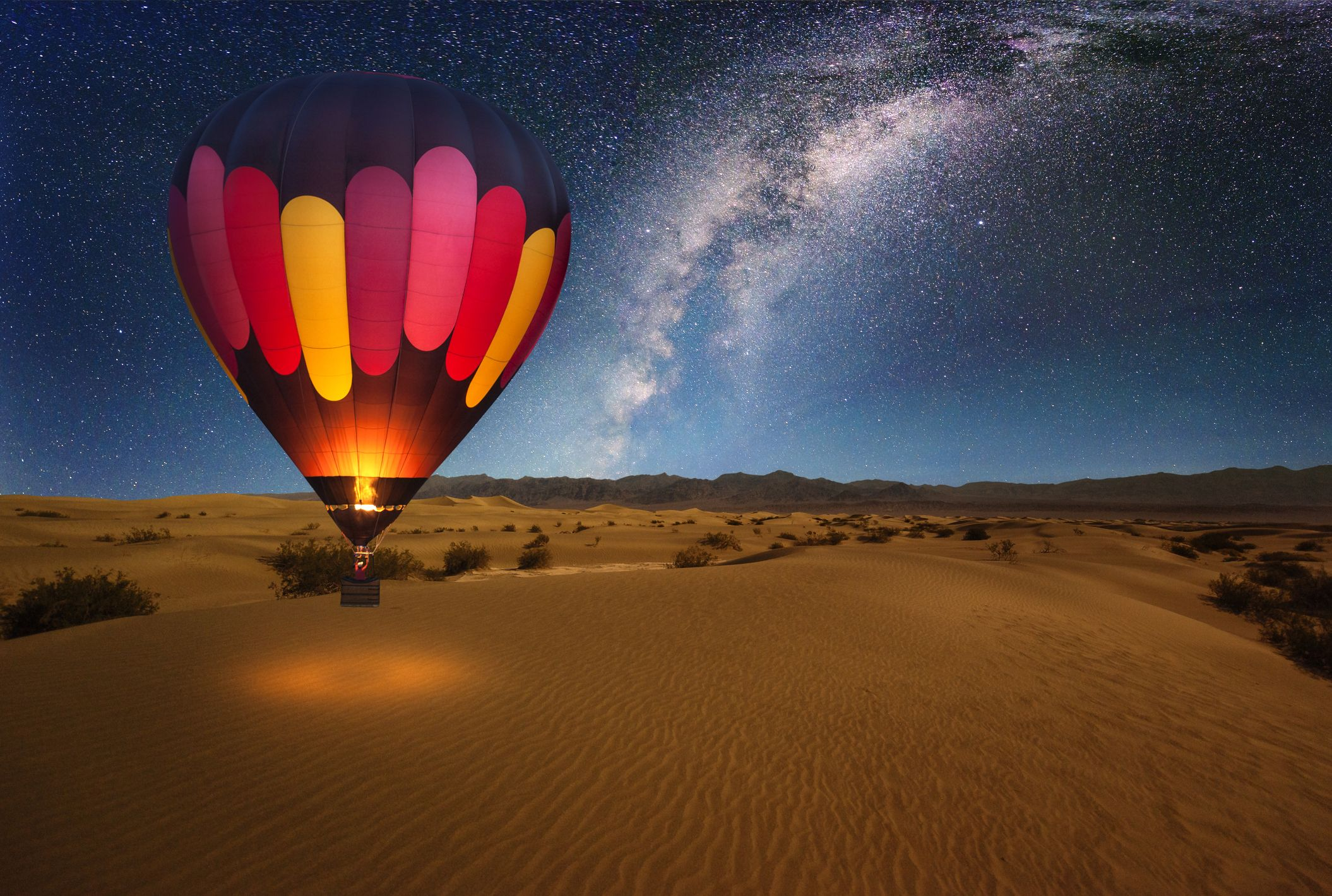 Let's Think About Using Hot Air Balloons to Get to Space