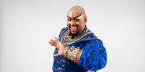 Watch Major Attaway Magically Transform Into The Genie