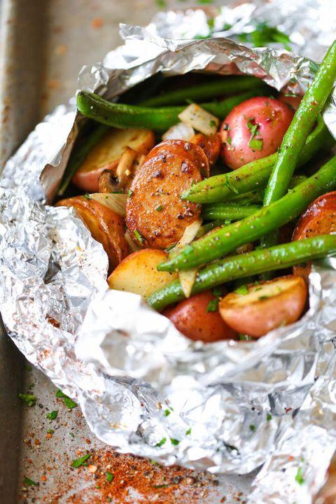 make ahead camping meals sausage potatoes