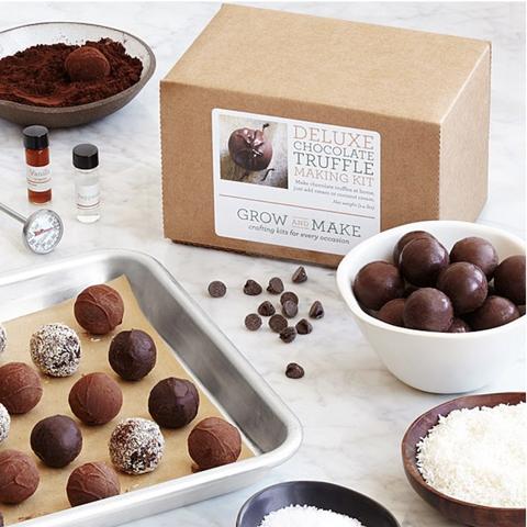 foodie gift truffles kit