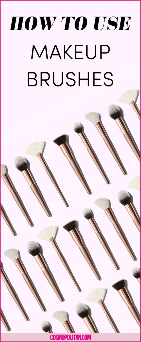 12 Makeup Brushes You Need And How To Use Them