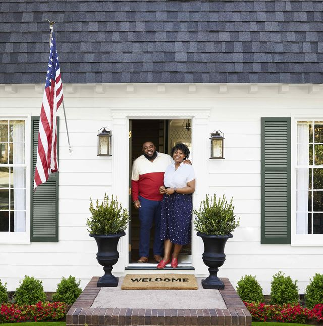 makeover takeover colonial house exterior