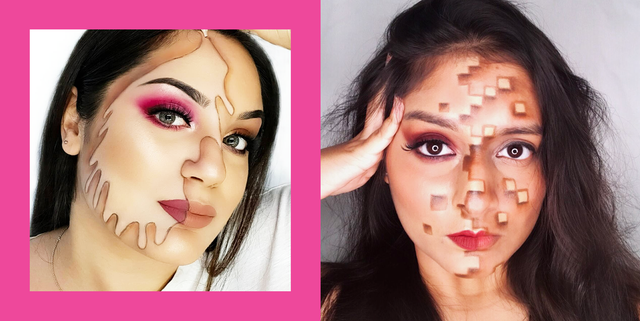 21 Half Face Halloween Makeup Ideas And Tutorials For 2020