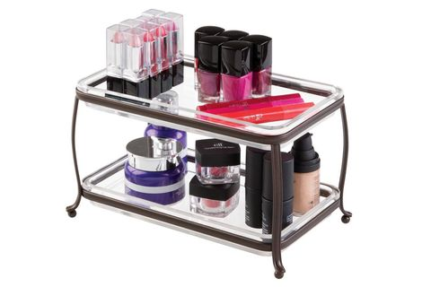 Product, Magenta, Furniture, Shelf, Machine, Material property, Nail care, Cosmetics, Nail polish, Small appliance,