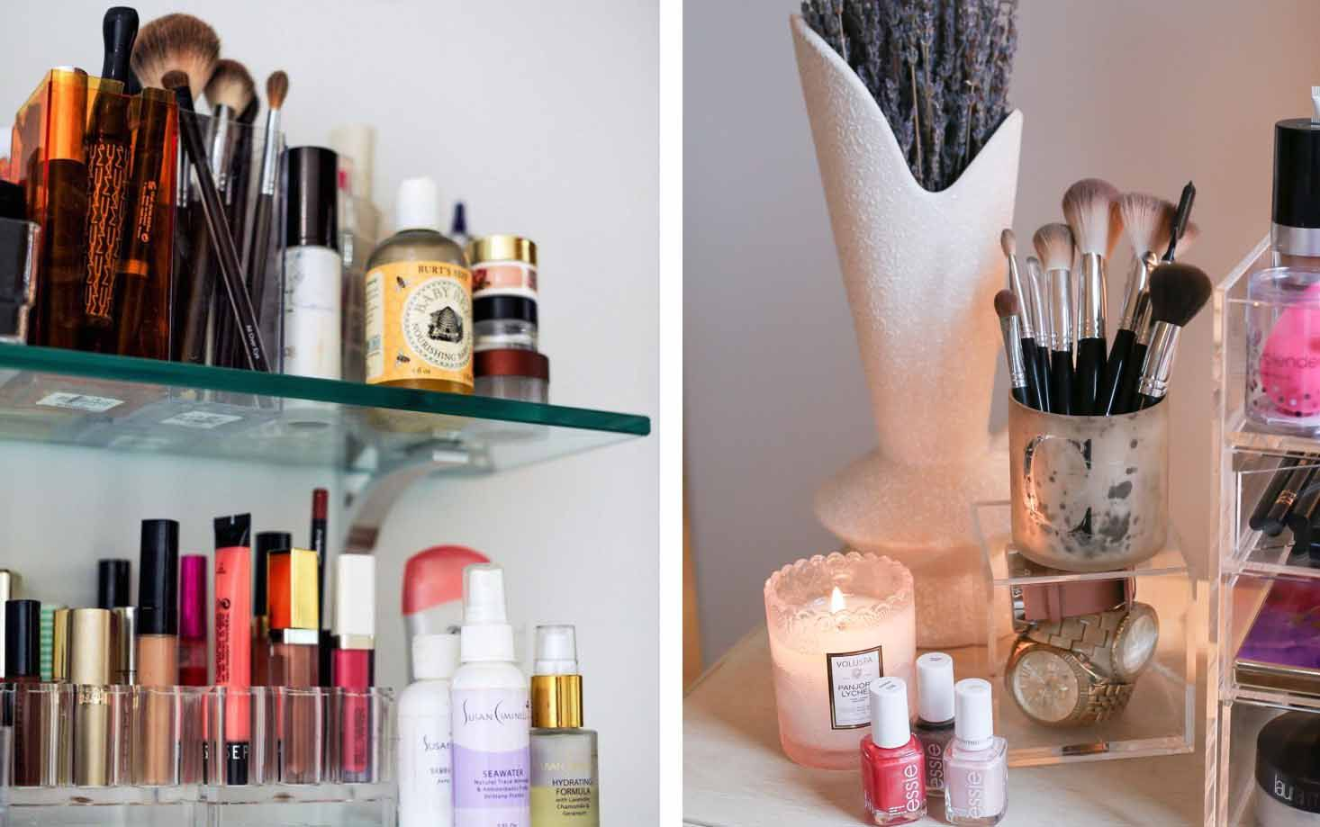 7 Brilliant Ways to Organize and Store Your Makeup