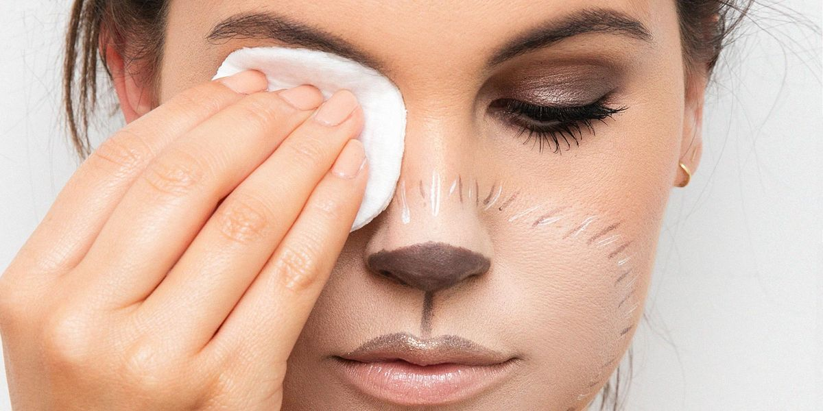 How To Easily Remove Halloween Makeup Best Way To Take Off Makeup