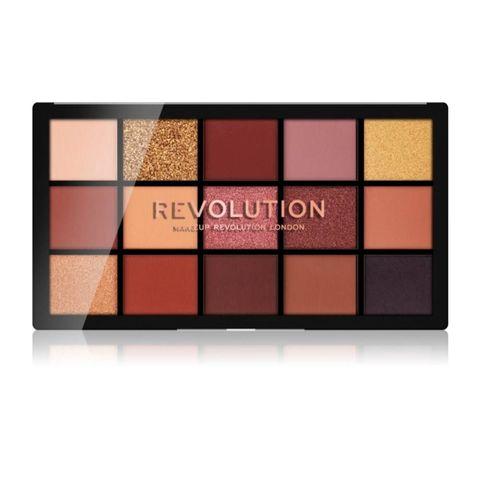 makeup revolution oogschaduw palette met warme tinten
