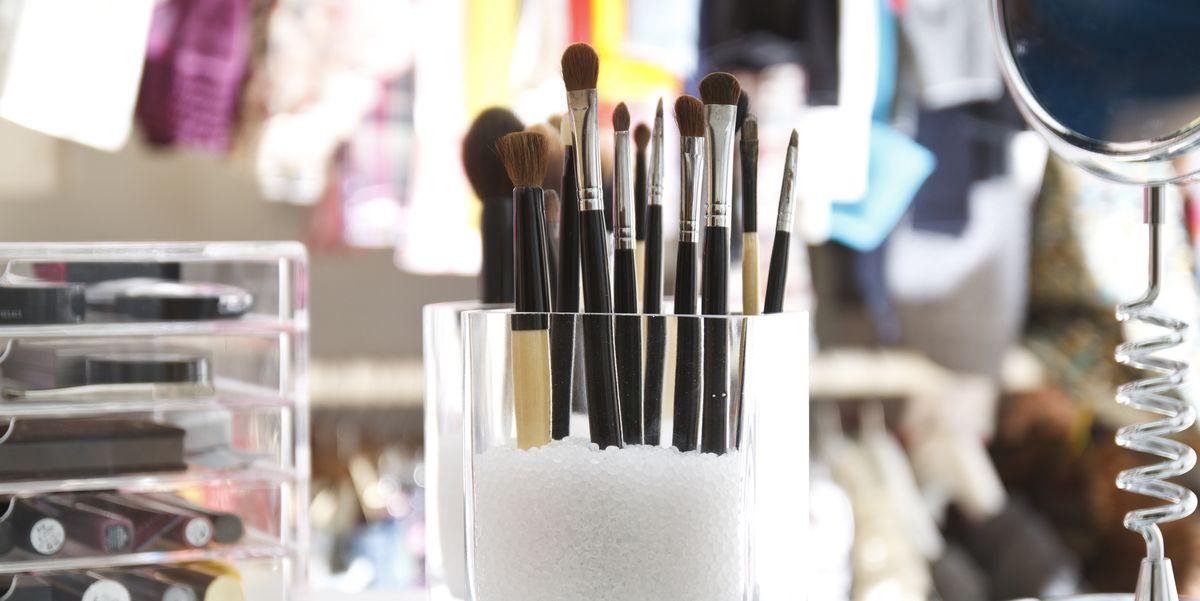 Makeup Storage Ideas Diy Cosmetics