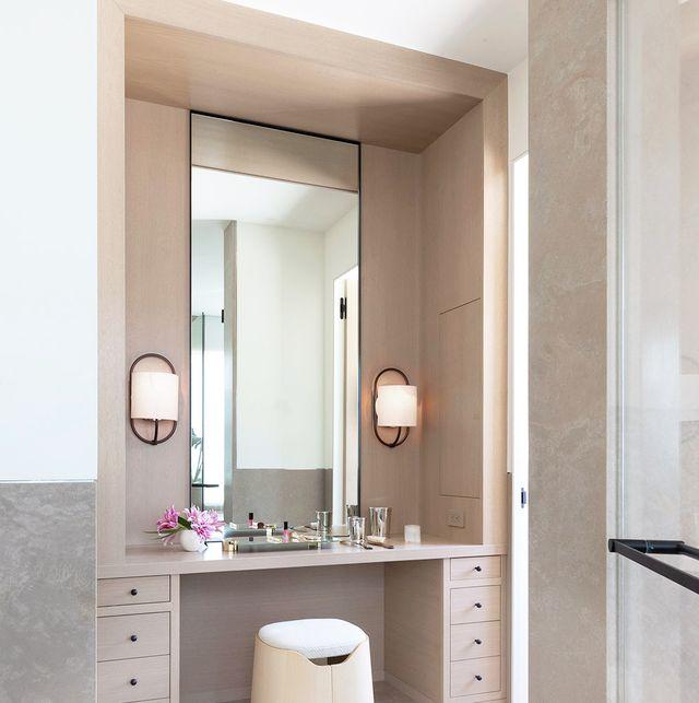 11 Stylish Makeup Vanity Ideas, Bathroom Dressing Table