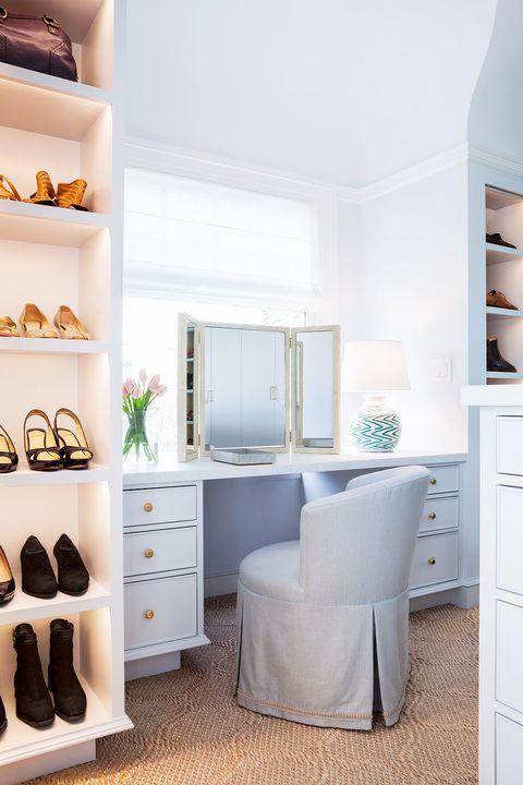 11 Stylish Makeup Vanity Ideas, Makeup Station Furniture