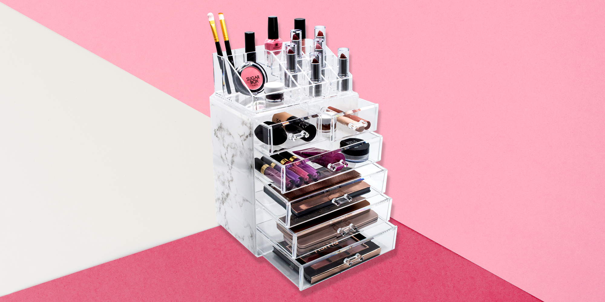 12 Best Makeup Organizers to Store Products and Brushes 2019