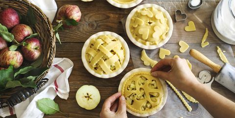 Making a Classic American Apple Pies.