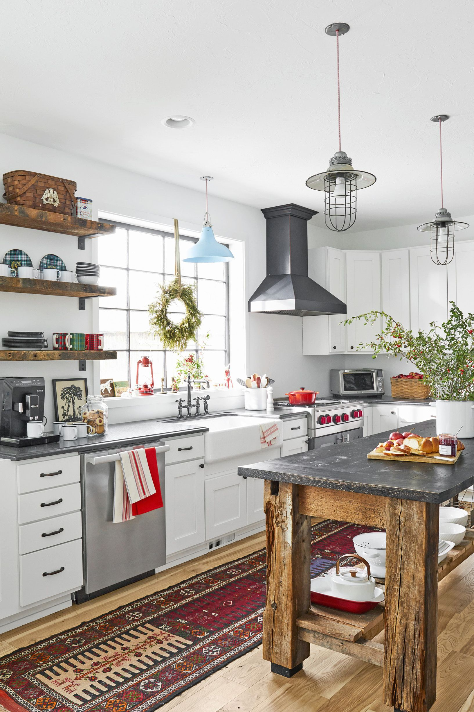 18 Ideas for Decorating Above Kitchen Cabinets - Design for ... on decorating tips above kitchen cabinets, interior decorating above kitchen cabinets, wasted space above kitchen cabinets,