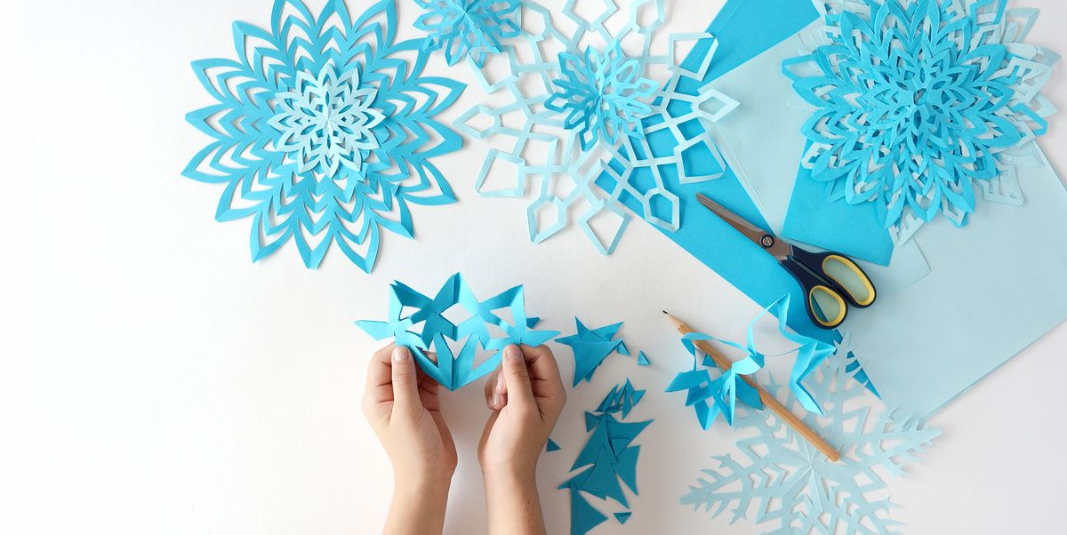 how to do a snowflake with paper