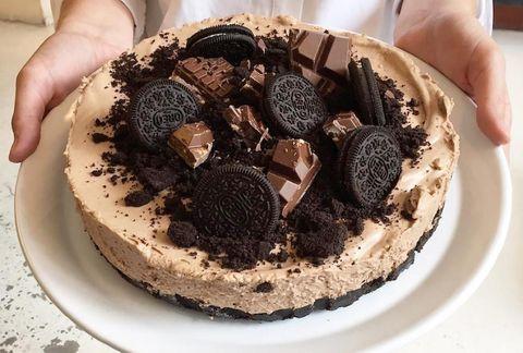 cheesecake, tony's chocolonely karamel-zeezout, oreo, recept