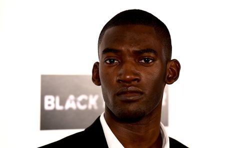 actor malachi kirby attends the lff connects television black mirror screening during the 60th bfi london film festival