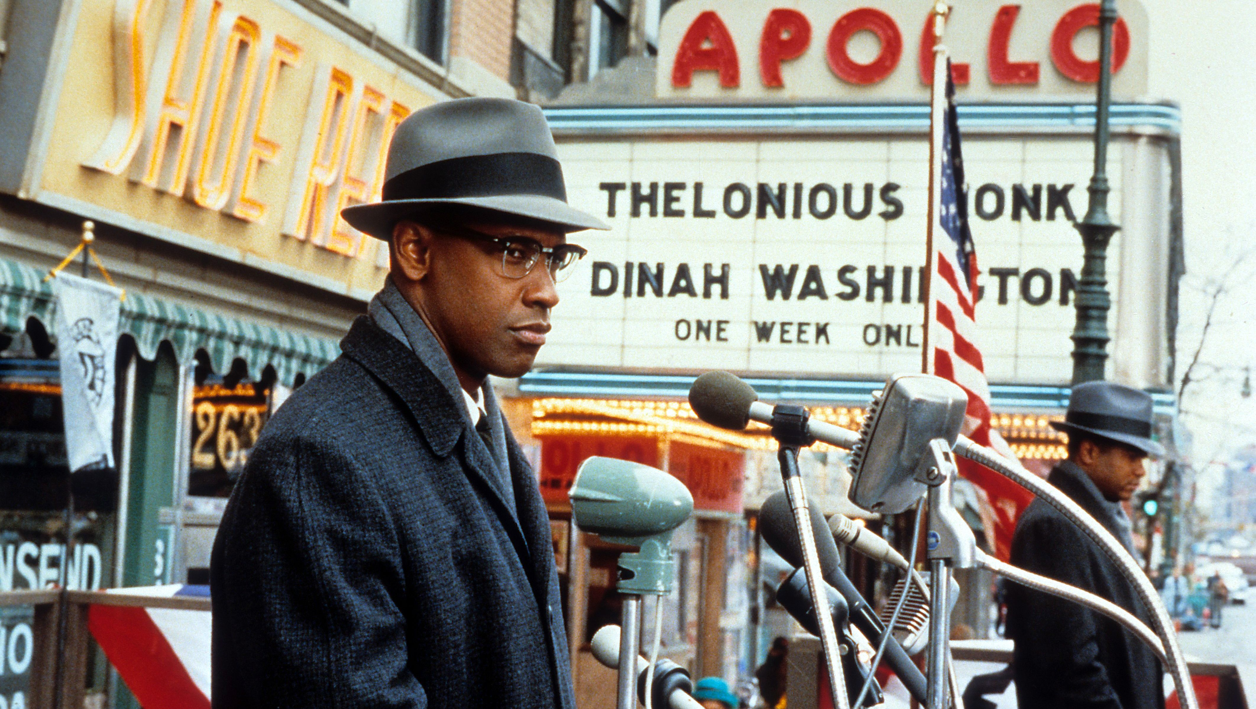 Denzel Washington In 'Malcom X'