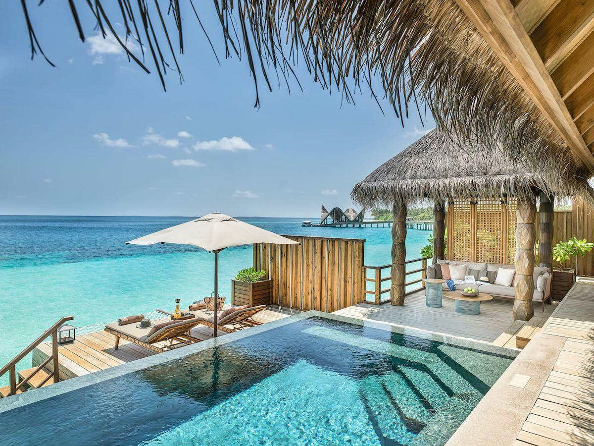 Este es el hotel de las Maldivas con el que soñar la primera escapada