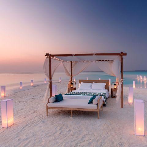 best hotel beds in world maldives