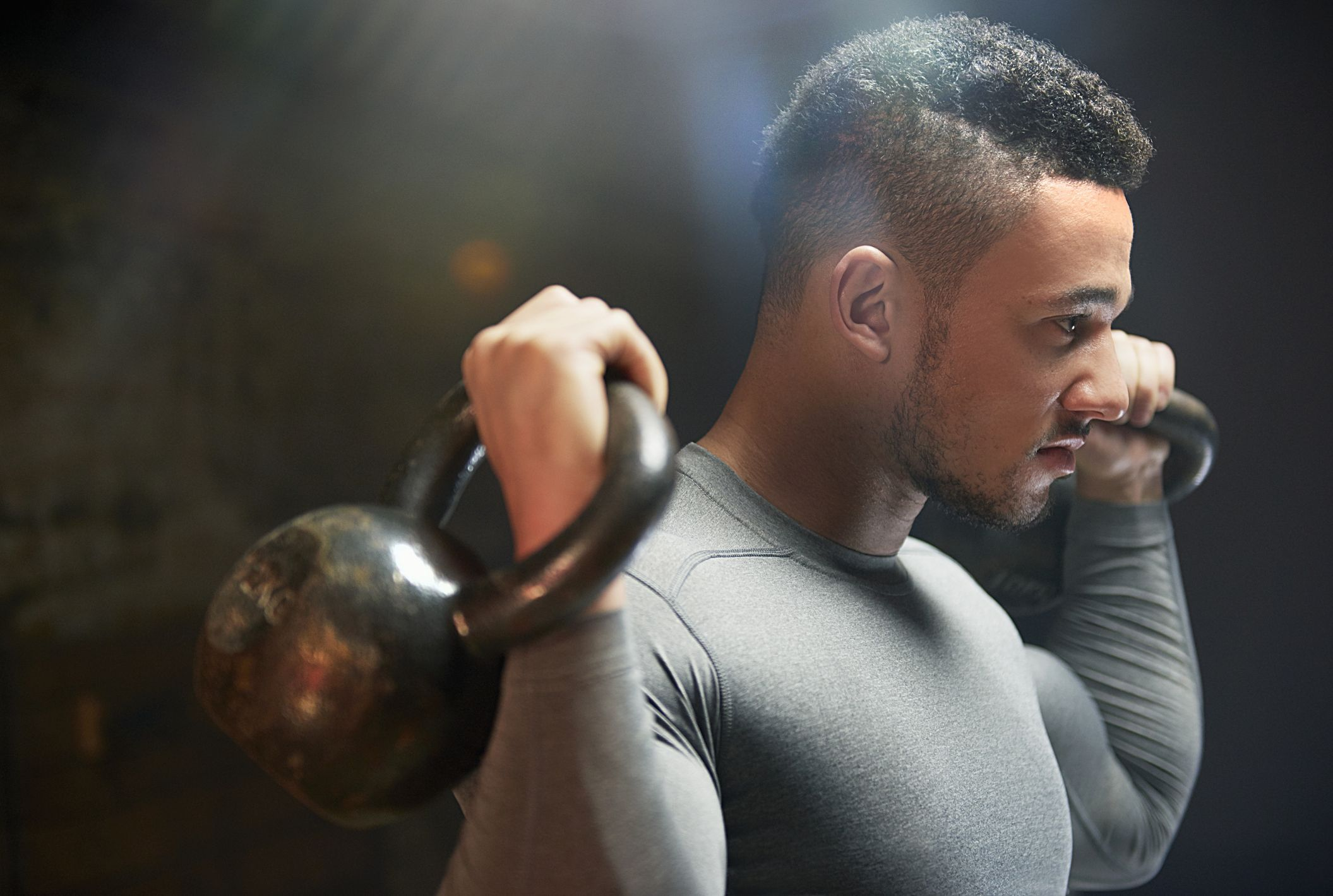 Challenge Your Whole Body With This Kettlebell Series
