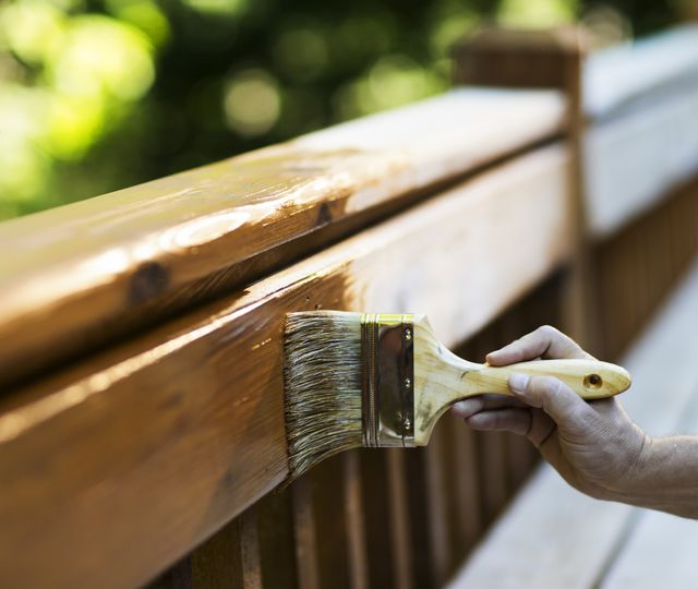how to stain pressure treated wood, staining pressure treated wood