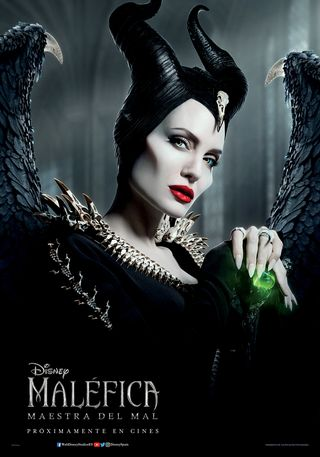 Maléfica 2: Maestra del mal poster