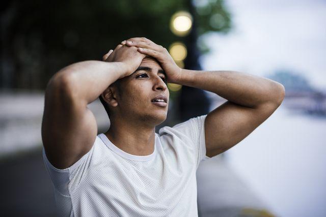 running headaches