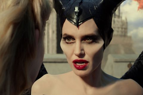 Watching Angelina Jolie Morph Into Disney S Maleficent Is