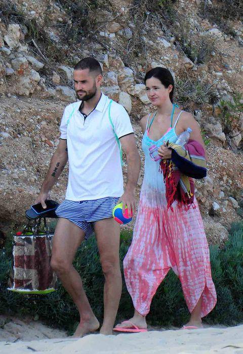Malena y Mario, de vacaciones en Mallorca