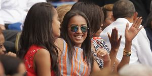 sasha obama malia michelle barack high school graduation
