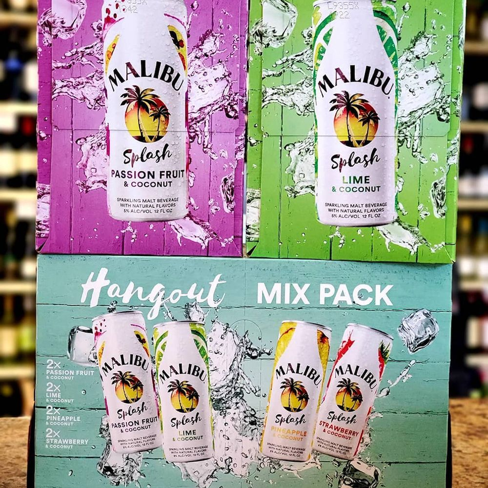 Malibu Rum Just Launched Splash Coconut Beverages, So It's Basically Summer, Right?