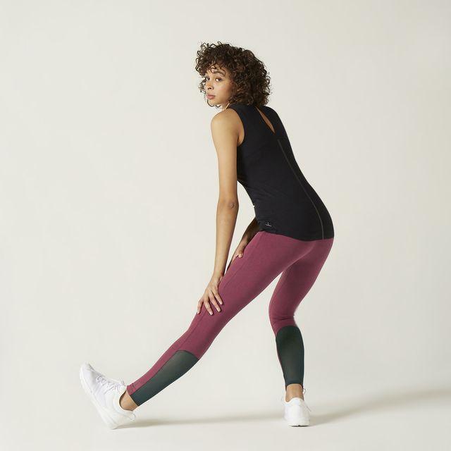 nuevos leggings efecto vientre plano de decathlon