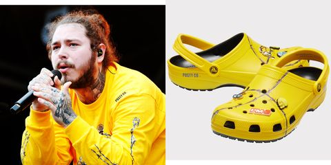 How to Wear the New Post Malone x Crocs Collab
