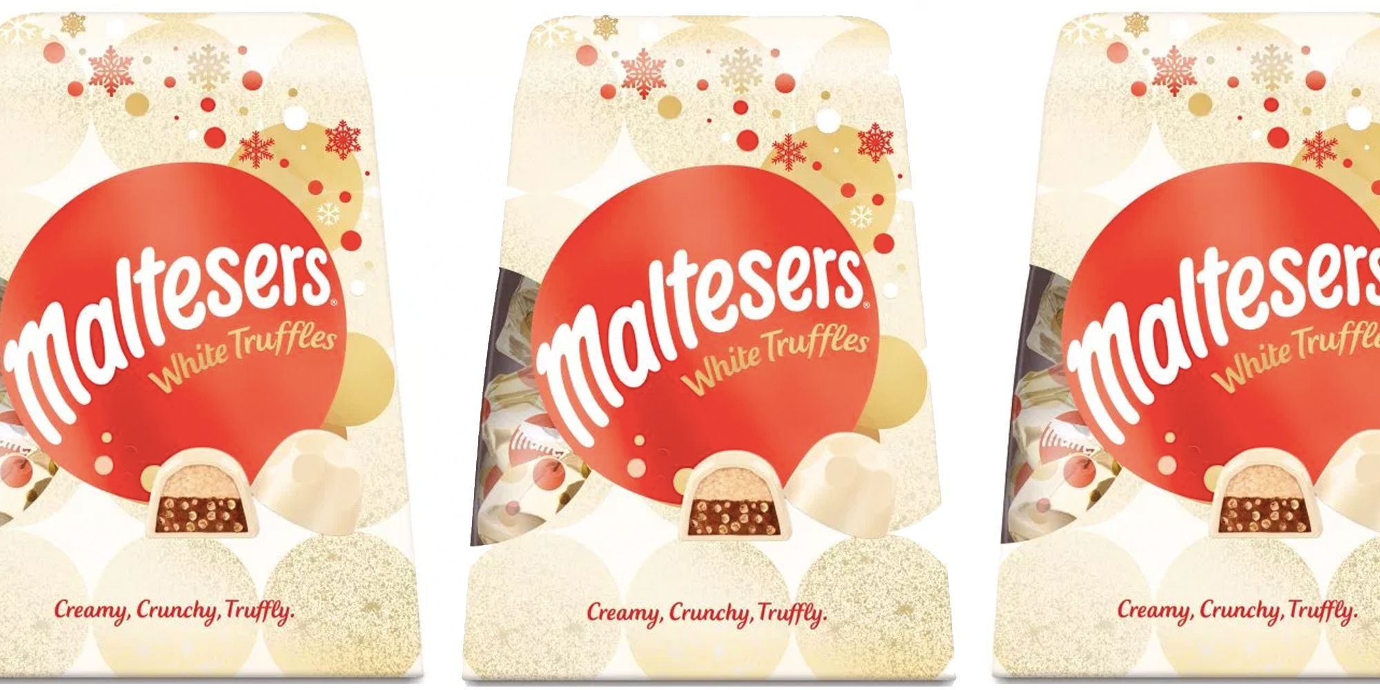 Maltesers is bringing out a white chocolate version of their truffles