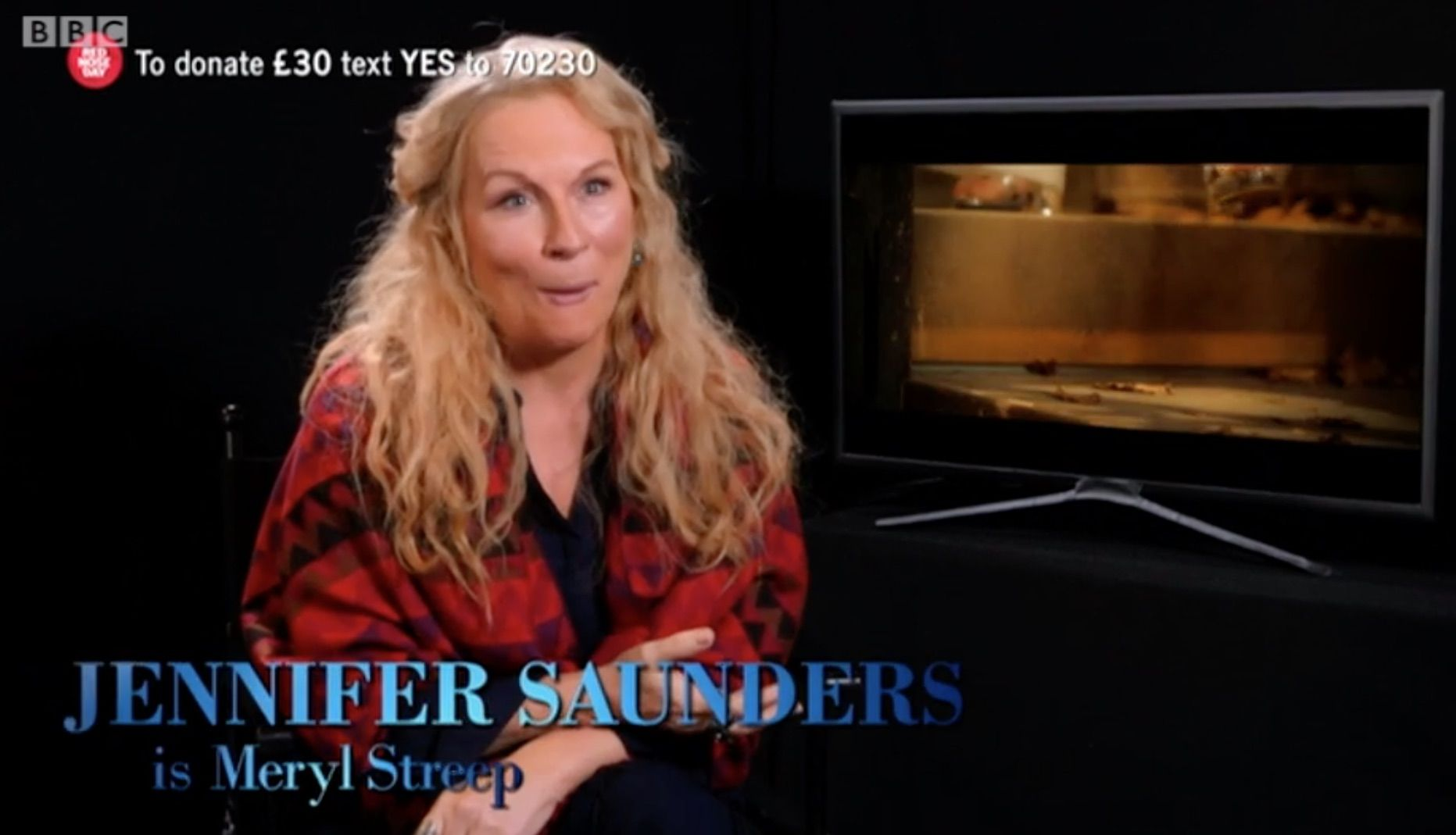 Jennifer Saunders as Meryl Streep
