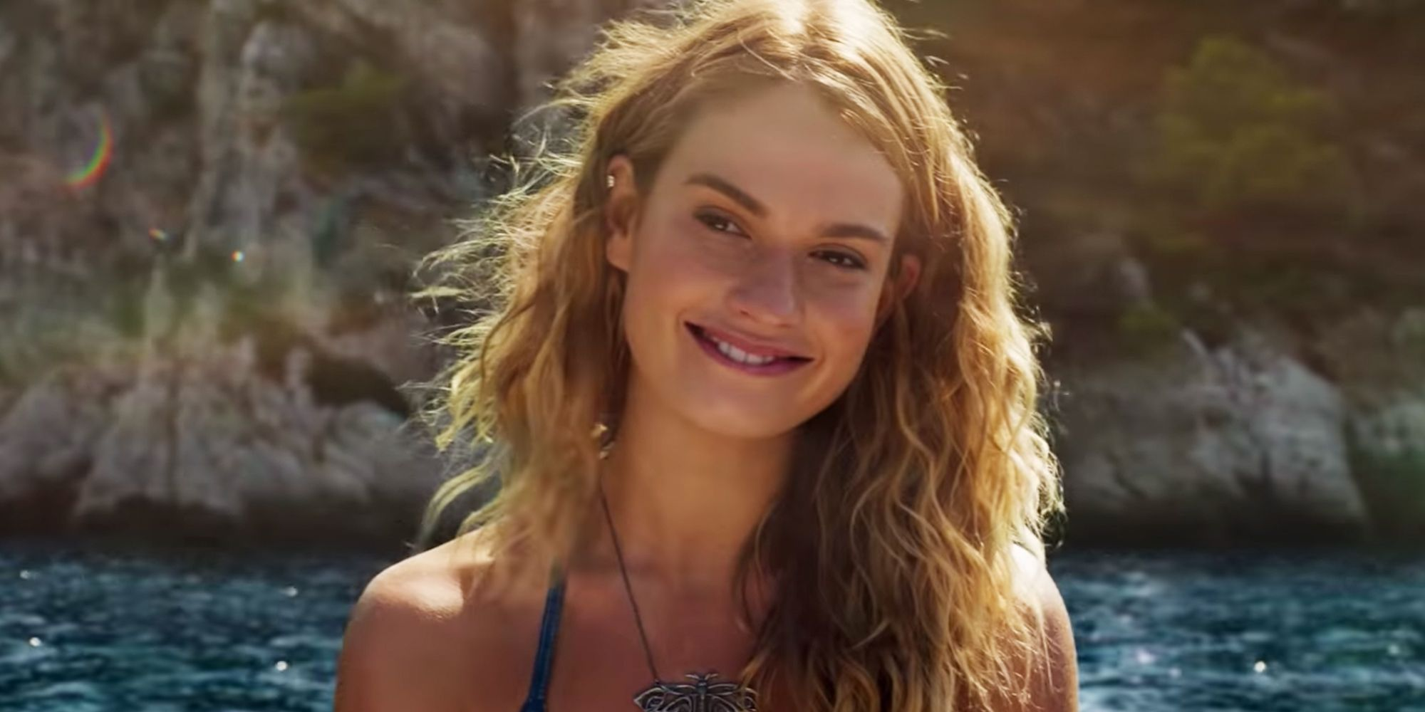 Image result for lily james mamma mia