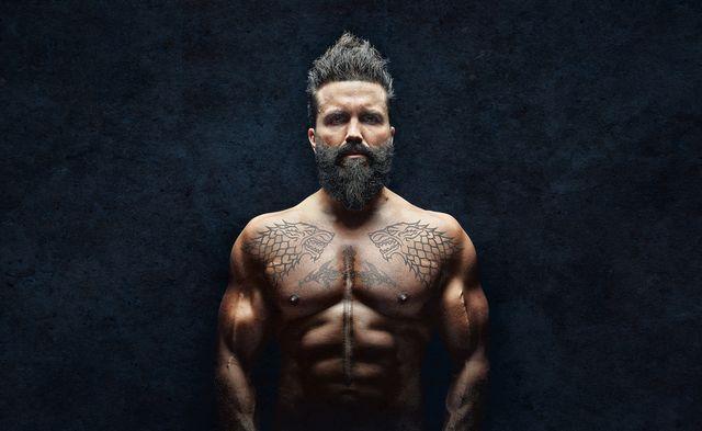 man beard tattoos millennial horz