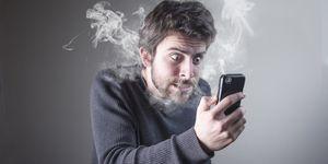 Daarom loopt de batterij van je smartphone leeg