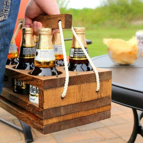 man cave ideas beer caddy