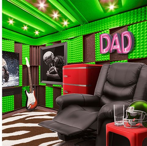 You Can Buy a Fully Furnished Man Cave on Groupon for $60,000