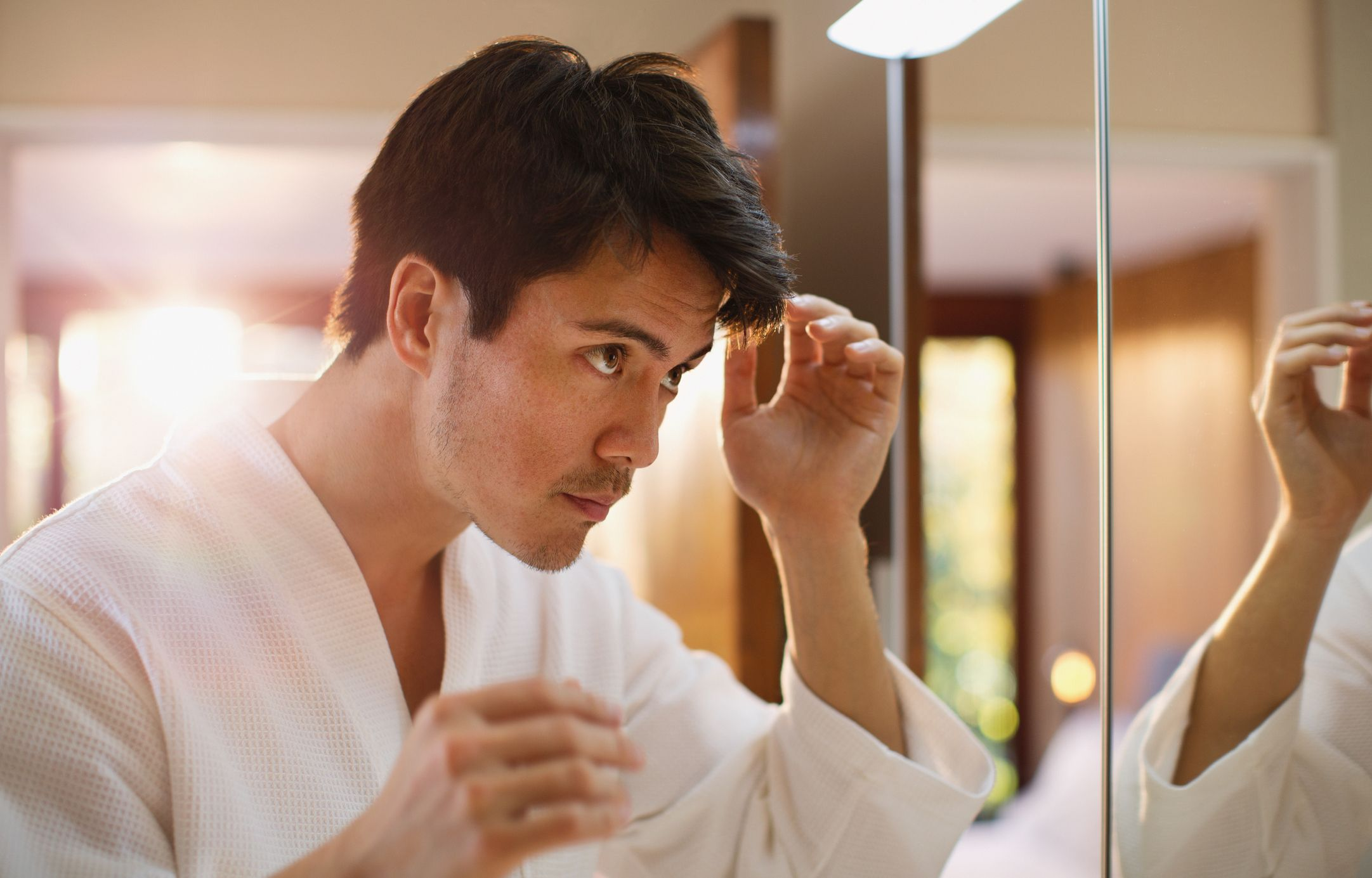 How to deal with receding hairline naturally