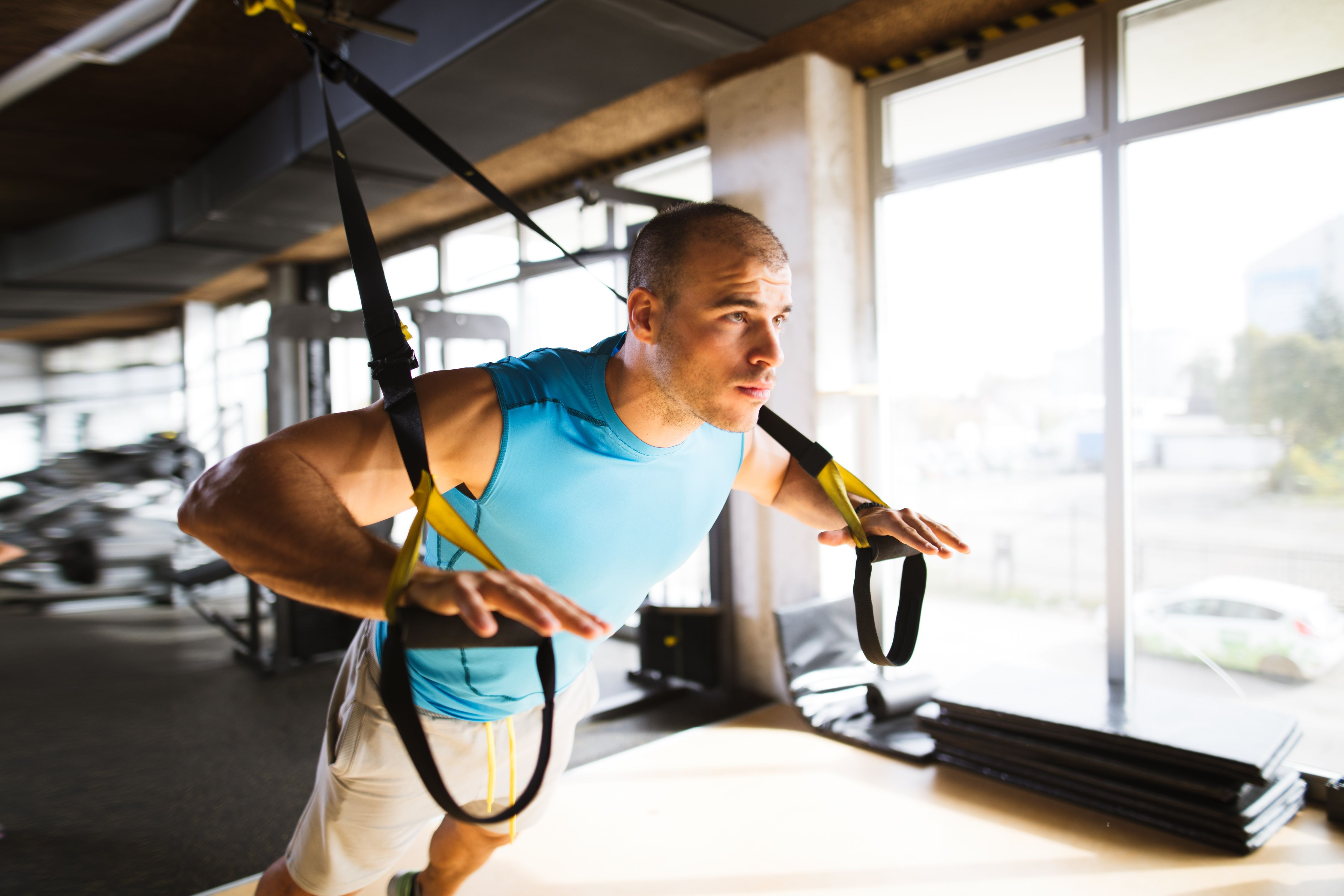super popular 3fdbc 645b9 This Total-Body TRX Workout Will Put More Power in Your Pedals